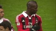 Balotelli sigla su rigore il primo dei due goal al Palermo