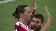 Ibrahimovic su rigore sigla la doppietta ed il Milan fa 4-0 al Chievo