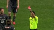 Barreto in tackle duro su Keita si merita il cartellino rosso