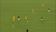 Totti con un passaggio di tacco elude il raddoppio del Verona