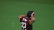 Destro, tocco vincente per il goal contro il Cagliari