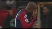 Il goal di Suazo apre le danze in Genoa-Bologna!