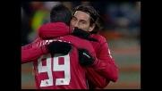 Goal di Vigiani con un destro all'incrocio e il Livorno sorprende la Sampdoria