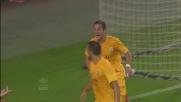 Juanito Gomez realizza il goal dell'1-1 tra Torino e Verona