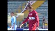 Franceschini riceve un colpo da Rocchi in Lazio-Reggina