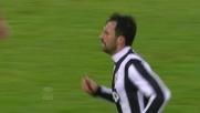 Vucinic segna contro l'Udinese a Torino