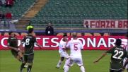 Floccari chiude la pratica Bari con un goal fortunoso