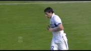 Milito non perdona: goal del pari per l'Inter a Cagliari