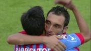 Lodi, goal da rigore e 2 a 0 del Catania contro la Lazio