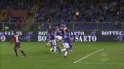 Inzuccata sulla traversa di Silvestre, la Sampdoria sfiora il goal nel derby