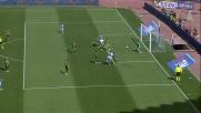 David Lopez va vicino al goal al San Paolo contro il Verona