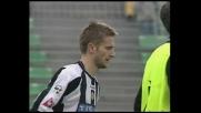 Il sinistro di Jorgensen è impreciso contro il Perugia