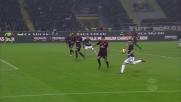 Cucchiaio di Candreva per il tiro al volo di Perisic, che occasione per l'Inter nel derby!