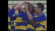 La zampata di Adriano porta avanti il Parma a Udine
