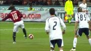Tacco volante di Seedorf per servire Pato in Milan-Lazio