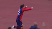 Esterno destro di Milito, goal del vantaggio del Genoa all'Olimpico!