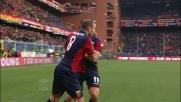 Palacio davanti alla porta non sbaglia e segna il goal del 3-1 per il Genoa
