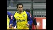 Pellissier accorcia le distanze a Cagliari, goal del Chievo