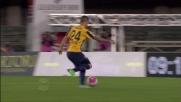 Viviani finalizza in rete un contropiede perfetto del Verona contro i campioni d'Italia