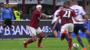 Incomprensibile Mexes causa il rigore per il Genoa