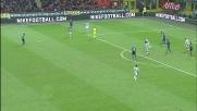 Zanetti colpisce il palo con un tiro da fuori contro l'Udinese