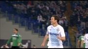 Lichtsteiner batte Curci e porta avanti la Lazio