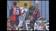 Criscito trattiene Floro Flores, è fallo da rigore per l'Udinese