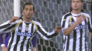 Incornata di Benatia, traversa piena contro la Fiorentina!