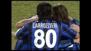 Finta, tiro e goal di Langella che agguanta il Milan sull'1-1