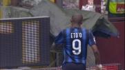 Il goal di Eto'o contro la Lazio a San Siro regala 3 punti ai nerazzurri