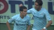 Hernanes di testa segna il poker della Lazio contro il Genoa