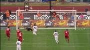 Julio Sergio ipnotizza Floccari dagli 11 metri nel derby di Roma
