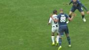 Una ruleta di Allan crea il panico nella difesa del Napoli