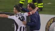 Al Friuli Di Natale segna il goal della vittoria sul Milan