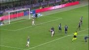 Quagliarella prova a fare un dispetto all'Inter ma il suo destro è alto