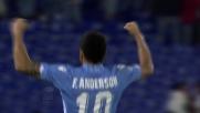 Goal da cineteca per Felipe Anderson in Lazio - Genoa