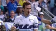 Klose beffa Bizzarri con un tocco sotto e porta in vantaggio la Lazio