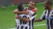 Danilo da pochi metri non fallisce il goal del vantaggio contro il Cagliari