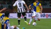 Muriel favorito da un rimbalzo dribbla i difensori del Parma