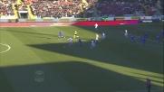 Grande doppia parata di Belec contro la Sampdoria