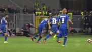 Niang fa impazzire il Sassuolo, Pellegrini lo stende con un fallo