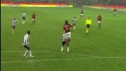 Ibrahimovic segna il goal del definitivo pareggio tra Milan e Udinese