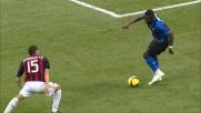 Doppio dribbling di Muntari ai danni di Zambrotta e Pato