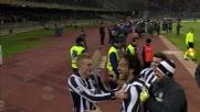 Favoloso goal di testa di Toni in Cagliari-Juventus