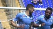 Il goal di rapina di Candreva porta in vantaggio la Lazio