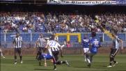 Quagliarella cerca il goal spettacolare in rovesciata ma Karnezis blocca sicuro