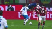 Il bel pallonetto di Bergessio firma il vantaggio del Catania