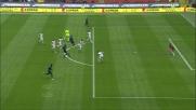 Ibrahimovic illude l'Inter colpendo il palo con un tiro di collo pieno