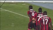 Muntari con un tiro al volo raddoppia lo score per il Milan