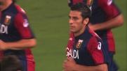 Goal del Genoa: Floccari spiazza De Sanctis dagli 11 metri e pareggia i conti